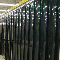 Cortinas PVC verde para solda