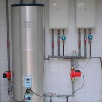 Instalação de aquecedor a gás