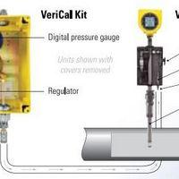 Medidor de vazão de gás de flare