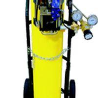 Mini booster para recarga e transferência de gases